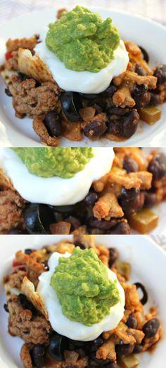 Quick and healthy taco casserole recipe