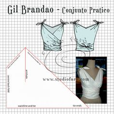 Grade Rules – Gil Brandao Conjunto Pratico (well-suited) Imogheena has made a special request for grading information for the Gil Brandao Conjunto Pratico. This design has turned out to be very popular as a. Dress Sewing Patterns, Vintage Sewing Patterns, Clothing Patterns, Dress Sewing Tutorials, Skirt Patterns, Coat Patterns, Blouse Patterns, Fashion Sewing, Diy Fashion