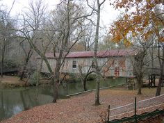 Kymulga Covered Bridge over Talladega Creek built 1861. Located in Talladega County AL.