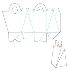 Выкройки подарочных и сувенирных коробок. Обсуждение на LiveInternet - Российский Сервис Онлайн-Дневников