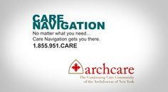 #ARCHCARE CARE NAVIGATION CENTER HELPING YOU ACCESS SOCIAL, HEALTH, AND COMMUNITY SERVICES...https://vimeo.com/155045017