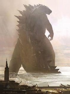 Amazing Godzilla Poster