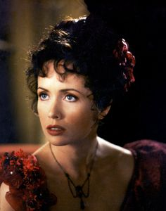 """Lysette Anthony - """"Dracula Dead and Loving - Costume designer : Dodie Shepard Lysette Anthony, Hot Actresses, Girl Crushes, Dracula, Survival Skills, Past, Cinema, Actors, Film"""