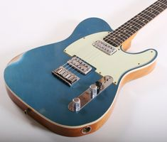 Fender Custom Shop Double TV Jones Telecaster Relic (Lake Placid Blue)