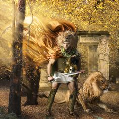 "Alexander the Great – ""Son of Zeus"" Image © Alexia Sinclair 2010"