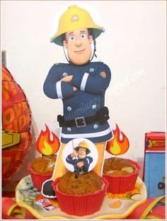 Compleanno bambini: festa a tema Sam il pompiere! | Sulla scrivania di Melangy