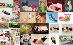 Handmade Baby Girl Boy Newborn-24Month Animal Knitted Crochet Photo Prop Hat Cap #Handmade #Dressy