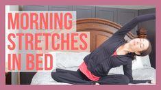5 min Morning Yoga Stretches in Bed Morning Yoga Stretches, Morning Yoga Flow, Morning Yoga Routine, Yoga Youtube, Yoga Books, Yoga For Flexibility, Yoga Teacher Training, Yin Yoga, Best Yoga