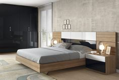 Dormitorio moderno (168 – D30) - Muebles CASANOVA