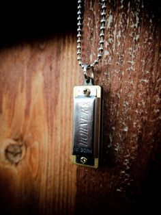 Mini Harmonica Necklace #music #jewelry