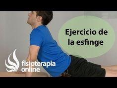 M Ejercicio para el dolor de espalda. Esfinge   Fisioterapia Online