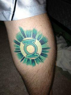 Green Lantern Symbol Tattoo