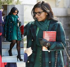 This site tells you EXACTLY where to get clothes you see on TV. (I.E. Mindy Kaling's green check coat from Modcloth)