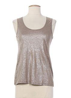 T-shirts et Tops femme de couleur marron en soldes pas cher - Modz T Shirt, Tops, Women, Fashion, Conkers, Tee, Moda, Women's, La Mode