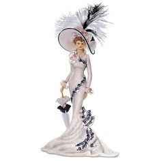 Amazon.com - Victorian Lady Royal Ascot Collectible Figurine from Hamilton Collection by The Hamilton Collection -