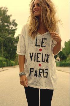 ah Paris, tu t'en souviens...