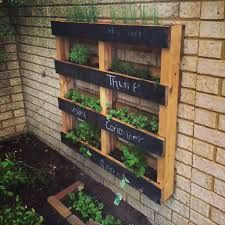 image result for vertical pallet garden better homes and gardens. Interior Design Ideas. Home Design Ideas