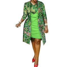 kitenge designs African cotton wax Print Dress and Suit Coat for - African cotton wax Print Dress and Suit Coat for Women Afrinspiration African Wear Dresses, Latest African Fashion Dresses, African Print Fashion, African Attire, African Print Dress Designs, African Design, Traditional African Clothing, Jelsa, Fashion Coat