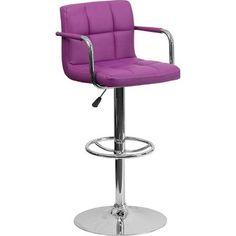 safavieh fox7507a flynn adjustable height swivel bar stool in silver bar stool stools and bar