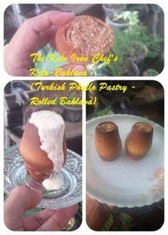 The Keto Iron Chef's Keto-Baklava (Turkish Phyllo Pastry - Rolled Baklava)