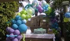 Quirky Custom Balloon Arch