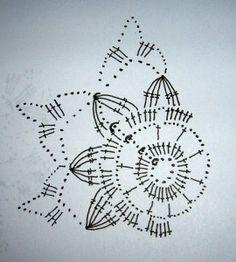 Bildergebnis für háčkované vločky s popisem Crochet Snowflake Pattern, Crochet Stars, Crochet Motifs, Crochet Snowflakes, Hand Crochet, Crochet Flowers, Knit Crochet, Crochet Patterns, Crochet Christmas Ornaments