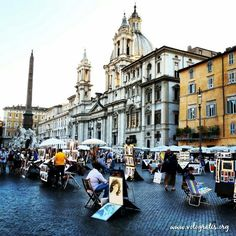 Piazza Navona.....bought my most favorite painting here!