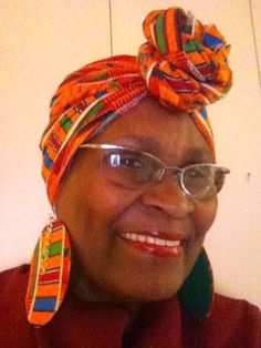 African scarf and earring set by cathysfashionpieces on Etsy