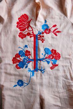 Anatomy embroidery