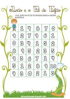Notebook da Profª: João e o Pé de Feijão - Matemática