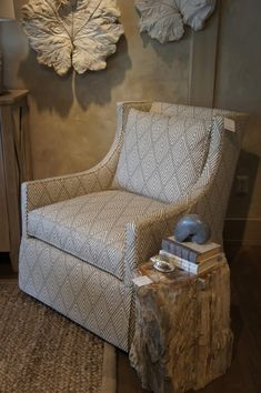 The best selling Lee chair is this lovely swiveling piece. We love ...