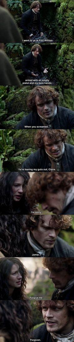 Outlander - S01E09 - Jamie & Claire