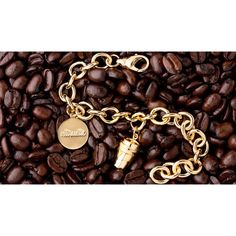 Altruette Coffee Cup Charm For Charity ($75) ❤ liked on Polyvore