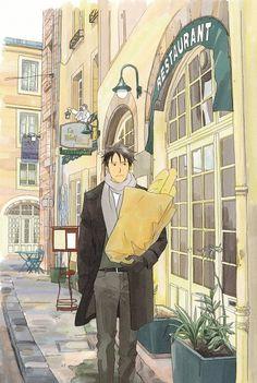 "Page 58 from ""Nodame Cantabile Illustrations"" book by Ninomiya Tomoko"
