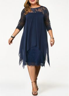 Plus Size Dress Lace Panel Dress Straight Dress Overlay Dress Sleeve Dress Royal Blue Dress Elegant Dress Plus Size Chiffon Overlay Lace Panel Plus Size Lace Dress, Plus Size Maxi Dresses, Plus Size Outfits, Dresses For Sale, Dress Lace, Chiffon Dress, Vestidos Plus Size, Straight Dress, Panel Dress