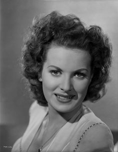Maureen O'Hara Close Up Portrait smiling With a Necklace Premium Art Print