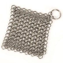 Shop Lehman's online store for chainmail scrubbers, perfect for cleaning your cast iron pans! Our durable cast iron scrubbers safely remove residue. Stainless Steel Dishwasher, Clean Dishwasher, Wood Stove Cooking, Homemade Toilet Cleaner, Clean Baking Pans, Glass Cooktop, Cast Iron Cookware, All Purpose Cleaners, Natural Cleaners