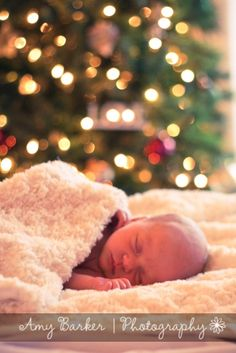 I hope @Julie B has a newborn shoot this Christmas and can take cute pics like this!!