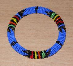 African Zulu bangle - Bracelet africain zoulou (Timeless Fineries)