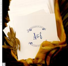 I am enamored with this font and the simplicity of this design. #programs, #wedding, #font