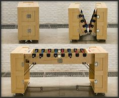 vintage french foosball table  yes please  house  Pinterest