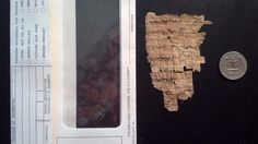 200 BC Egyptian Greek Papyrus Legal Doc. Fragment with Provenance in Antiques, Antiquities, Egyptian   eBay (1/18/2017); greatestuserever