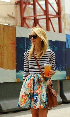 anne makeup®: mural fashion: mix and go - listras com floral, oncinha e petit pois