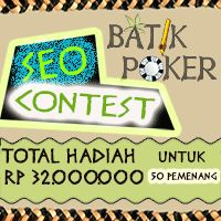 Kontes SEO Batikpoker.com