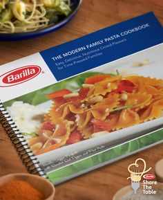 Barilla Share The Table=some recipes I'd like to try