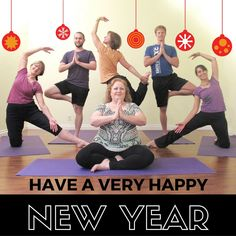 New Year Yoga Blessings to Students and Teachers at A Gentle Way