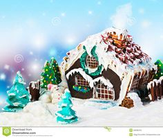 Gingerbread House - Download From Over 49 Million High Quality Stock Photos, Images, Vectors. Sign up for FREE today. Image: 34536415