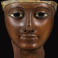 An Egyptian Wood Mummy Mask, Dynasty, circa B. Ancient Egyptian Art, Ancient History, Egypt Mummy, Kemet Egypt, Egyptian Mummies, Visit Egypt, Egypt Art, Learn Art, African History