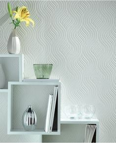 Pure Paintable Wallpaper from www.grahambrown.com LUV LUV...