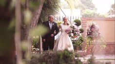 Entrada novia en la ceremonia //Ceremony. Foto: Estudionce. Organización: Señor y señora de #bodassrysrade www.señoryseñorade.com